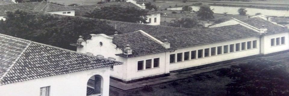 Vista Aérea do Prédio Central, década de 40/50