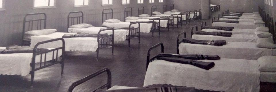 Alojamentos do Prédio Central, década de 40/50 - Atual Moradia Estudantil