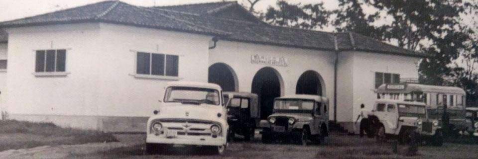 Centro de Inseminação Artificial de Zootecnia e Indústrias Pecuárias (IZIP) e Centro Intra-Unidade de Zootecnia e Indústrias Pecuárias (CIZIP), década de 60/70 - Atual Departamento de Reprodução Animal