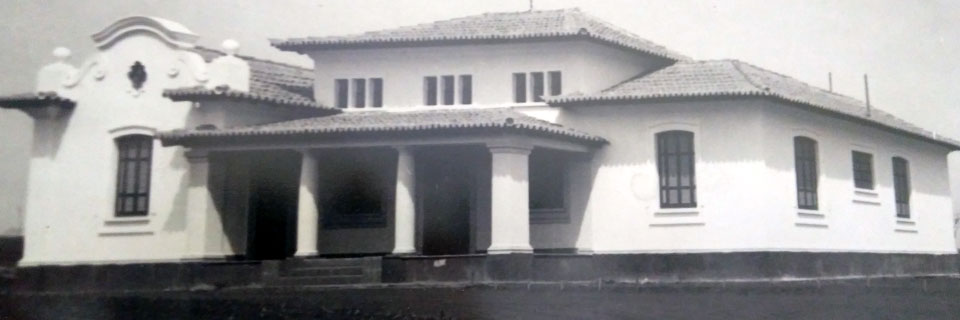 Casa do Diretor da Escola Prática de Agricultura, década de 40/50 - atual Casa de Hóspedes 1 da Prefeitura do Campus