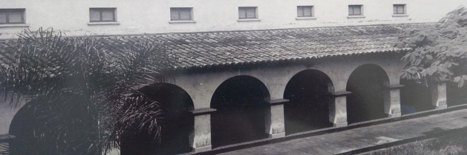 Vista lateral do atual Anfiteatro